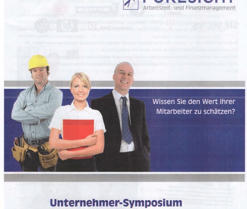 Unternehmer-Symposium in Lingen