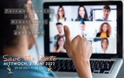 Mit Zeitwertkonten die Arbeitszeit flexibel gestalten (Facebook Event)